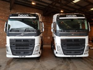 Two new Volvo Trucks